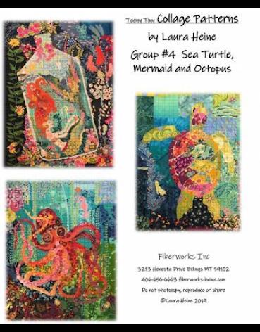 Teeny Tiny Collage mönster från Laura Heine (13113)