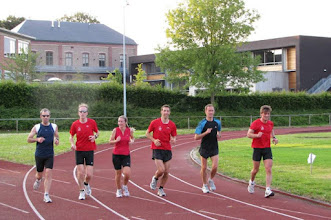 Photo: 23/06/2009 - Training op de piste in Kortessem