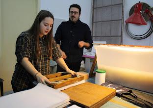 Photo: La preparazione della carta 3