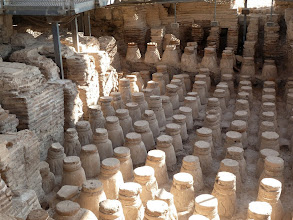Photo: These interesting columns supported a raised floor in a Byzantine bath house. Steam was piped through the open areas to heat the floor above.