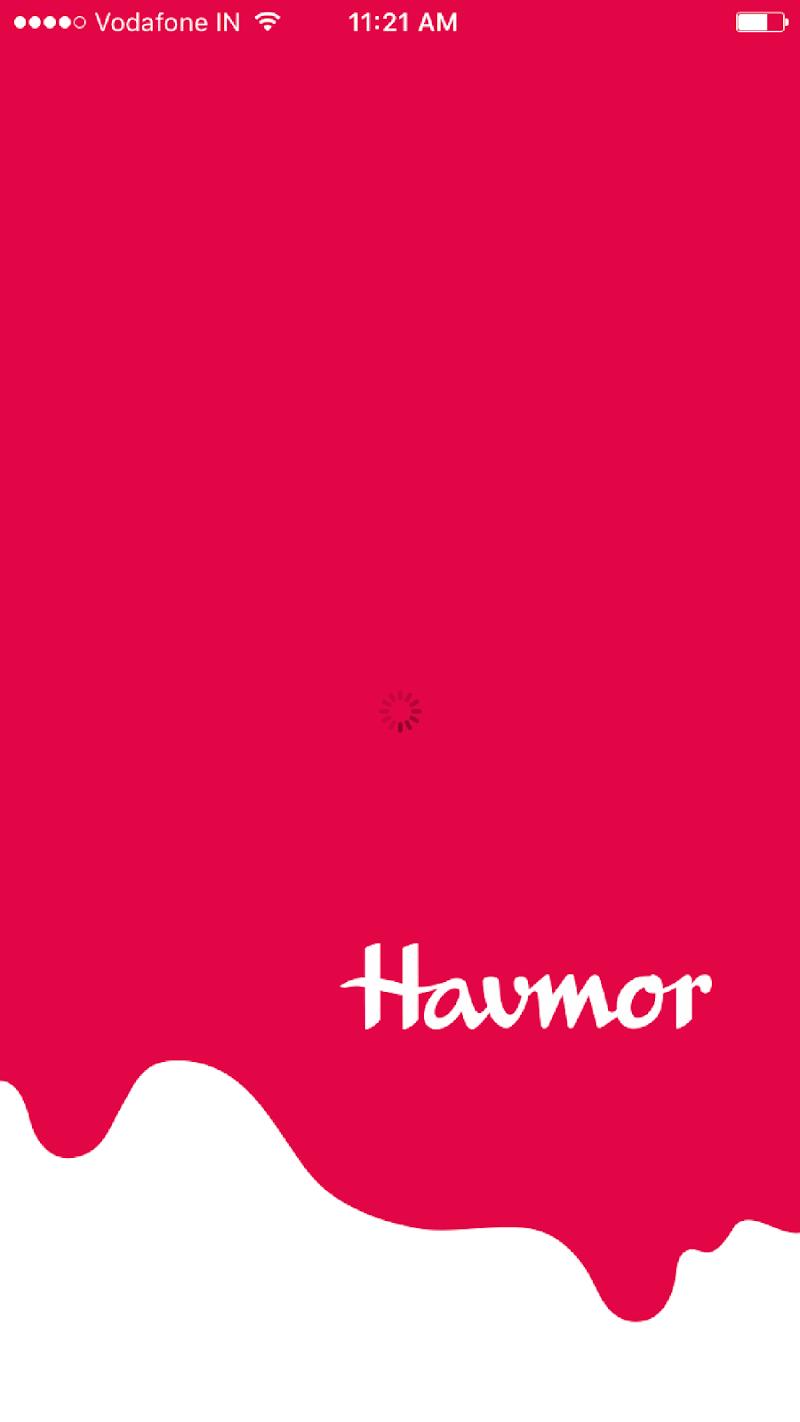 Скриншот Havmor Home Delivery