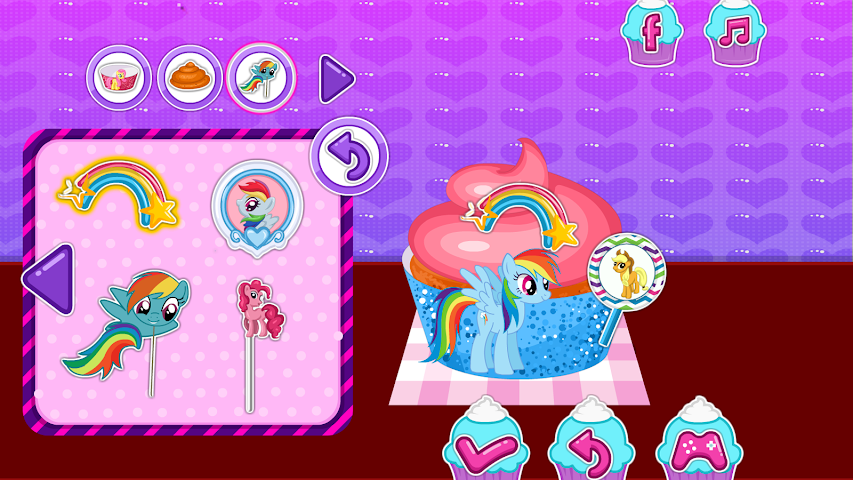 android Baby Pony Cupcakes Screenshot 4