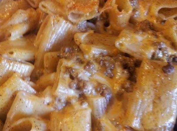 Ziti Noodles And Taco Sauce Recipe
