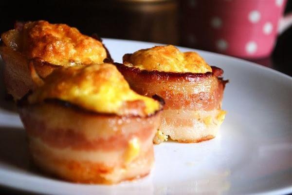 Enformadinho de Bacon com Ovos