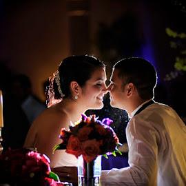 Maggie & Juan by Cesar Palima - Wedding Reception