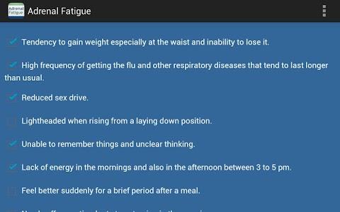 Adrenal Fatigue screenshot 3