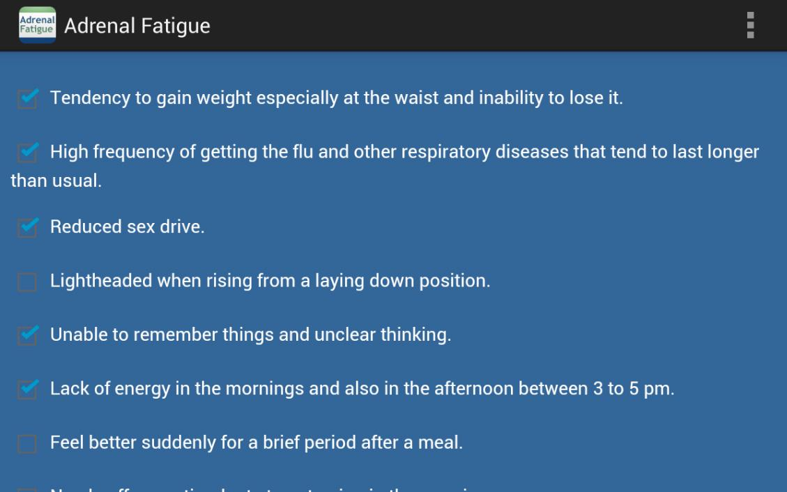 Adrenal Fatigue- screenshot