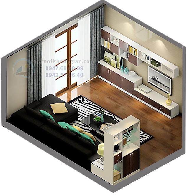 thiết kế căn hộ chung cư đẹp