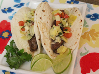 Beef And Artichoke Salsa Tacos Recipe