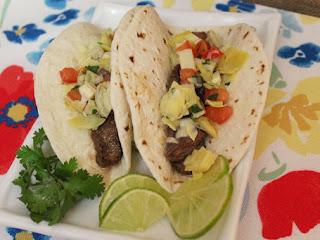 Beef And Artichoke Salsa Tacos Recipe