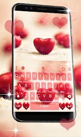 Red Heart Keyboard Theme Apk Download Free for PC, smart TV