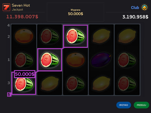 Club Slot Seven Hot