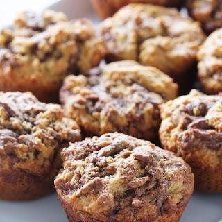 Peanut Butter Nutella Muffins