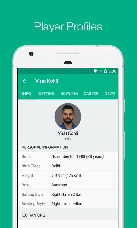 Cricbuzz Live Cricket Scores Amp News Android Apps On Google Play