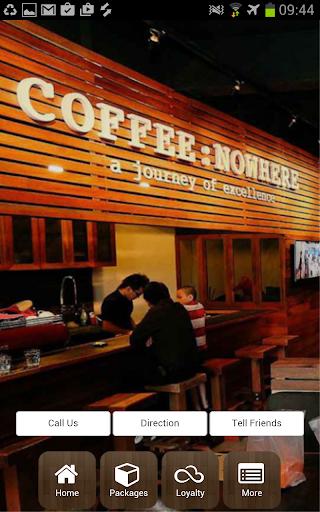 COFFEE:NOWHERE MY