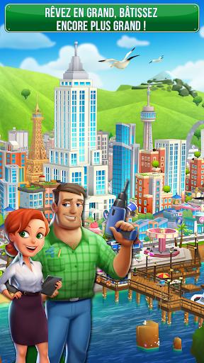 Code Triche Dream City: Metropolis APK MOD screenshots 1