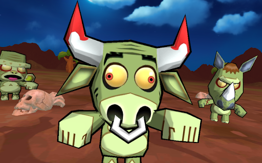 Sniper: Zombie Animals