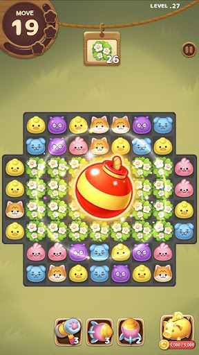 Candy Friends Forest : Match 3 Puzzle 1.1.4 screenshots 5