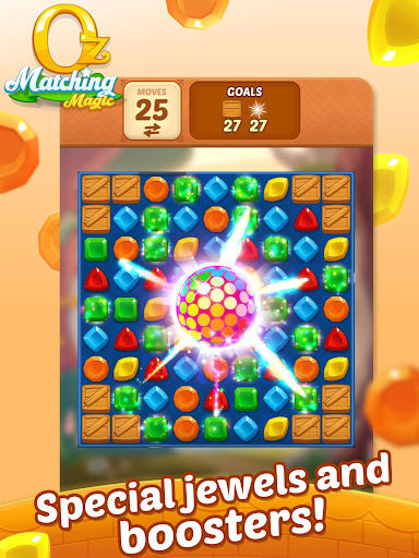 Matching Magic: Oz - Match 3 Jewel Puzzle Games screenshot 19