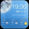 Pro Hourly weather forecast  ⚡ icon