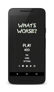 What's Worse? - náhled