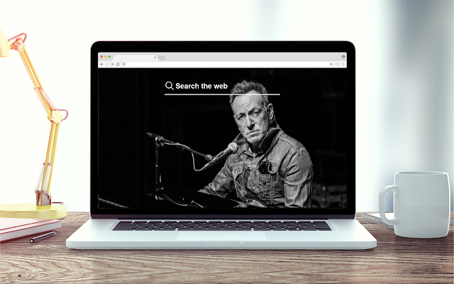 Springsteen New Tab Music Theme