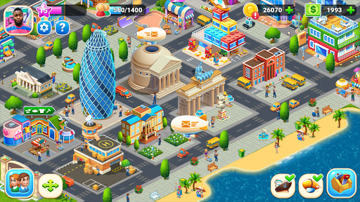 Farm City : Farming & City Building apkdebit screenshots 16