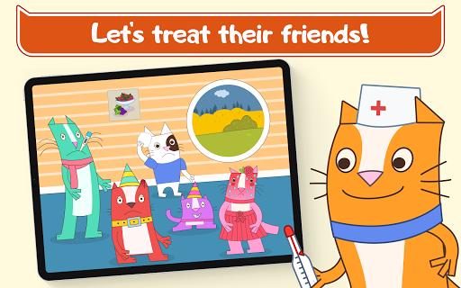 Cats Pets Animal Doctor Games for Kids! Pet doctor  screenshots 9