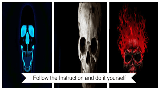 Flaming skull lock screen android apps on google play solutioingenieria Images
