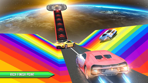 Crazy Car Driving Simulator: Mega Ramp Car Stunts filehippodl screenshot 5