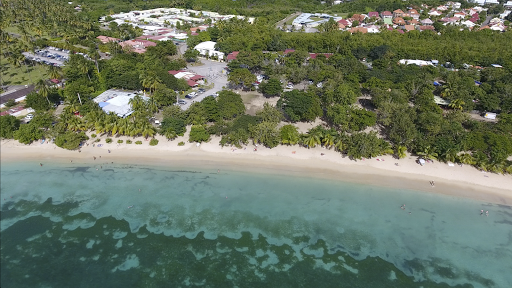 le-marin-drone-footage4.png - Drone footage of the beach in Le Marin, Martinique, taken during a sailing on Silver Spirit.