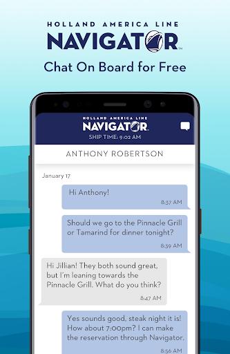 Holland America Line Navigator 1.7.5 screenshots 3