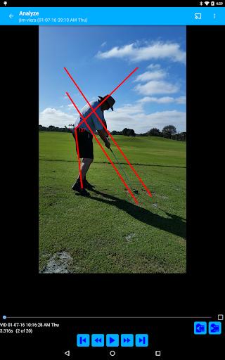 the swing analysis