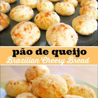 Pão de queijo Recipe -Brazilian Cheese Bread.