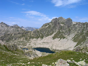 Photo: Vall de Boí:  estany de Port de Caldes amb el Montardo