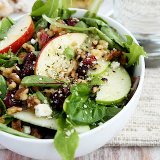 Apple Cranberry Hemp Salad