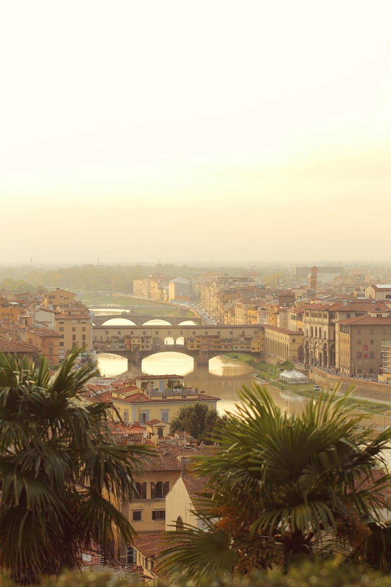 Tramonto sul Ponte Vecchio  di letiziacaprettiphotography
