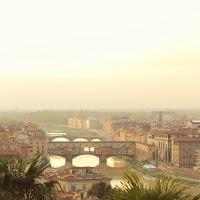 Tramonto sul Ponte Vecchio  di