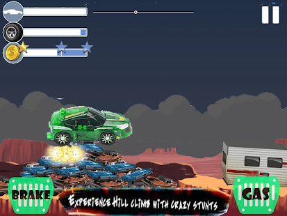 Super Turning Mecard Adventure Green Game - náhled