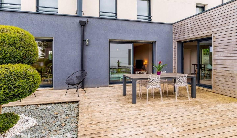 Maison contemporaine avec jardin et terrasse Saint-Brieuc
