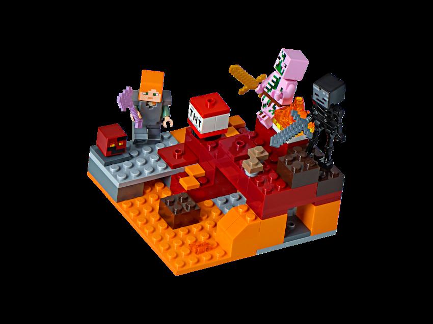Contenido de Lego® 21139 El Combate en el Infierno
