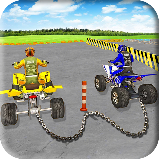 ATV Chained Bike Quad Racing Game