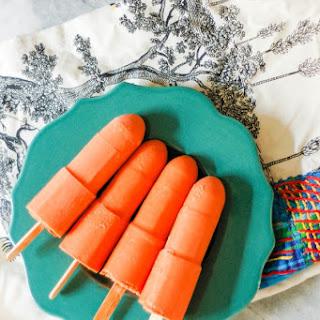Thai Iced Tea Popsicles #frozenfridays