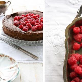 Flourless Chocolate Hazelnut Cake.