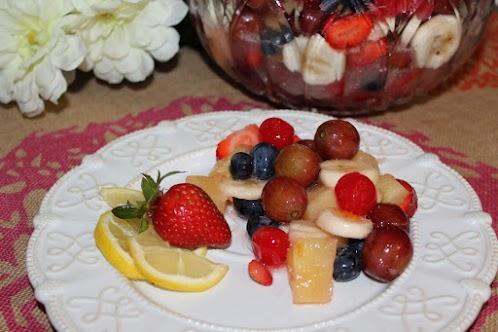 The BEST Glazed Fruit Salad