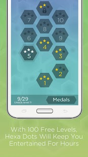 Hexa Dots - Connect Four Dots- screenshot thumbnail