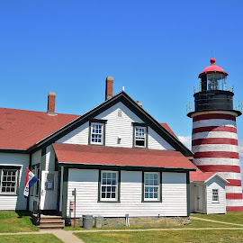 West Quoddy Head by Thomas Barr - Buildings & Architecture Other Exteriors (  )