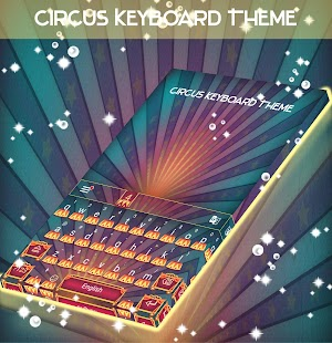 Circus Keyboard Theme - náhled