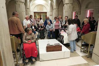 Photo: Pri relikvii sv. Jána Pavla II.