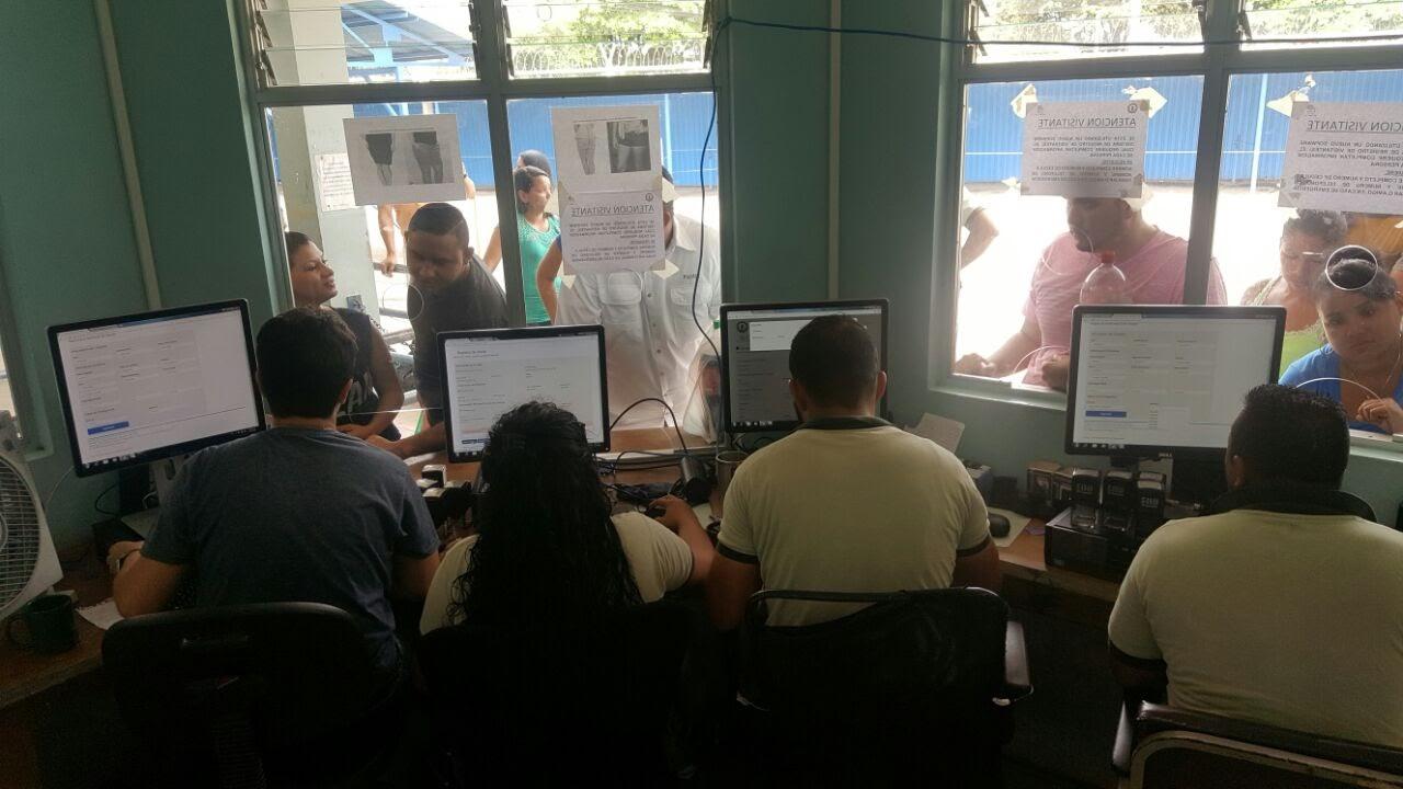 POLICÍA PENITENCIARIA IMPLEMENTA SOFTWARE PARA CONTROLAR INGRESO DE VISITA A CÁRCELES